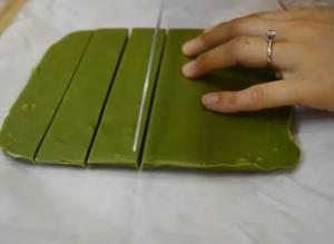 конфеты с зеленым чаем