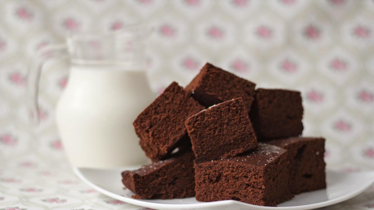 Еврейский шоколадный бисквит
