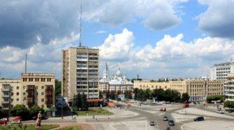 Соборна площа Житомир